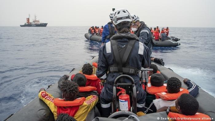 عملیات نجات سی واچ در بحیره مدیترانه (می ۲۰۲۱)