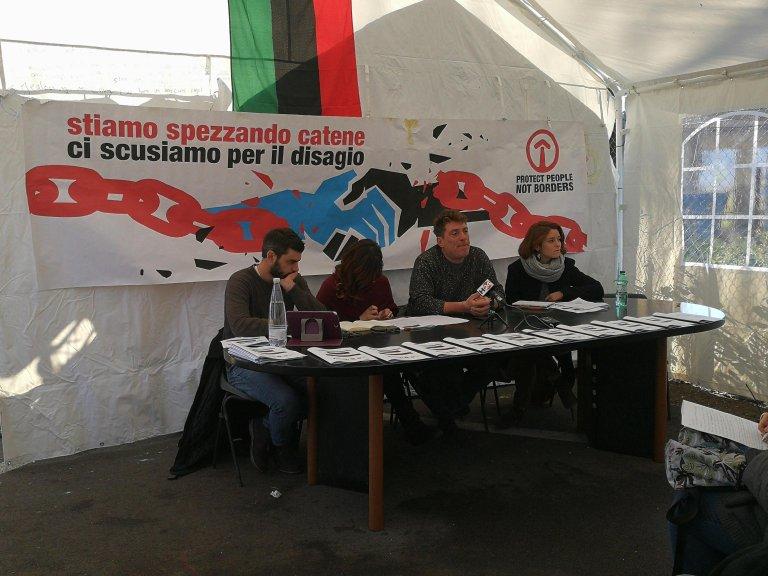 ansa/ مركز إيواء تيبورتينا استقبل ألفين مهاجر خلال 7 أشهر