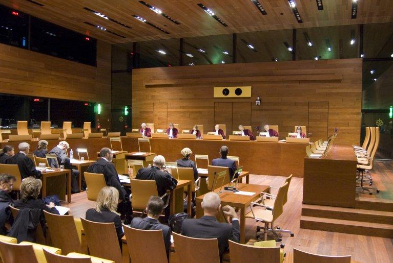 Une audience de la CJUE dans la chambre à cinq juges. Crédit : Cour de justice de l'Union européenne