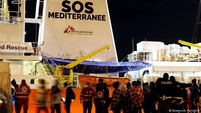 The SOS Mediterranee | Credit: Reuters/A. Parrinello