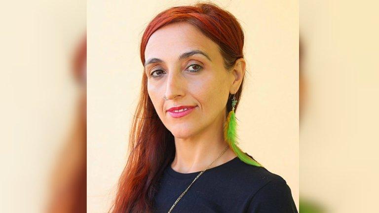 Portrait de la militante espagnole Helena Maleno, 48 ans. Crédit : photo transmise par Helena Maleno pour InfoMigrants