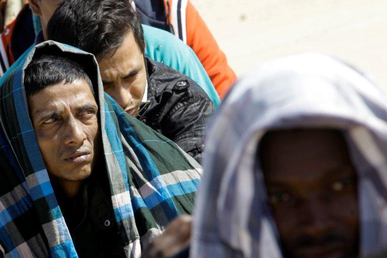 Six trafiquants de migrants en Libye ont été sanctionnés par l'ONU. Crédit : Reuters