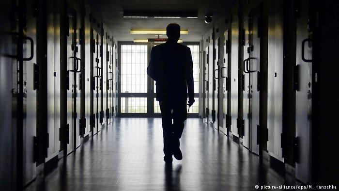 A holding center in Brandenburg   Photo: Picture-alliance/dpa/M.Hanschke