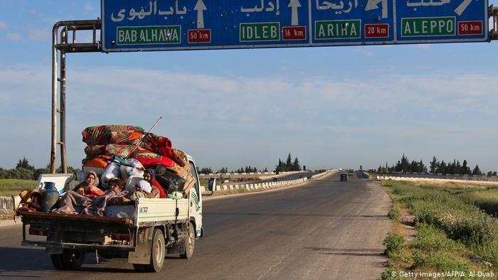 منذ التصعيد في إدلب نزح 400 ألف مدني على الأقل، بحسب الأمم المتحدة