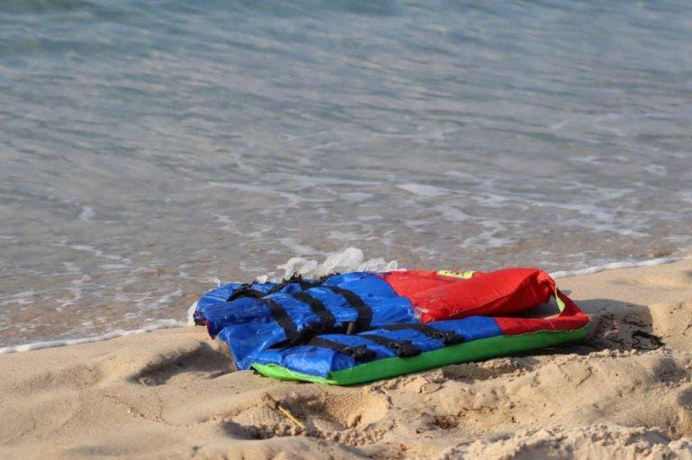 Un gilet de sauvetage retrouvé sur une plage (archives). Crédit: @OIMItalia.