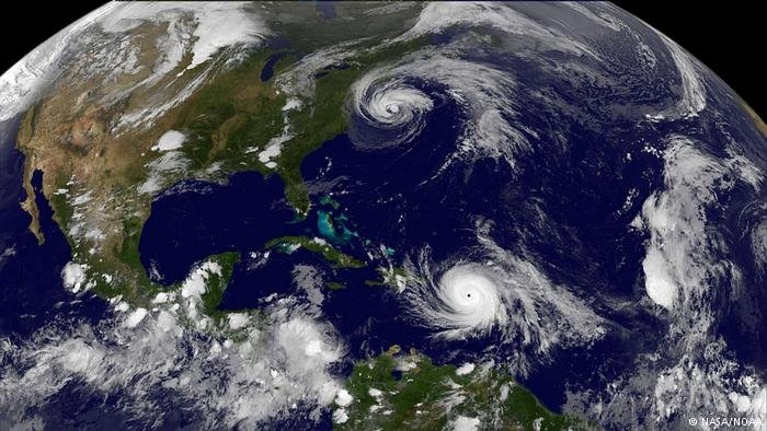 Worsening hurricanes in the Atlantic could drive increased climate migration | Photo: NASA/NOAA