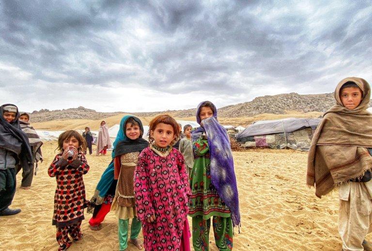 له ارشیف څخه. د افغانستان په جنوبي ولایتونو کې لسګونه زره کسان د روانو تاوتریخوالو له امله له خپلو کورن بې ځایه شوې دي. انځور: اوچا