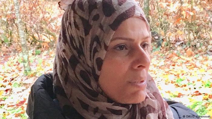 أسماء العيسى لاجئة  سورية في اليونان واجهت الموت أثناء رحلة لجوئها