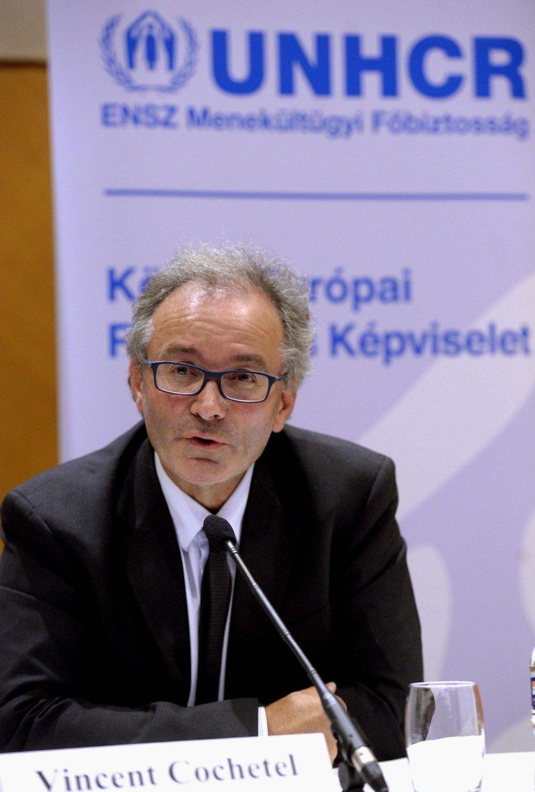 Vincent Cochetel, UN special envoy for the Central Mediterranean | Photo: EPA/Noemi Bruzak