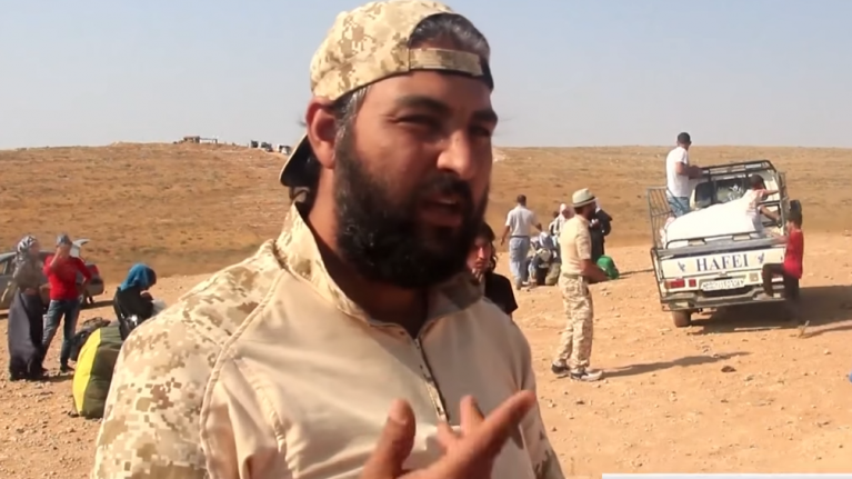 يوتيوب/أرشيف  |سوريون في مخيم لجوء أردني