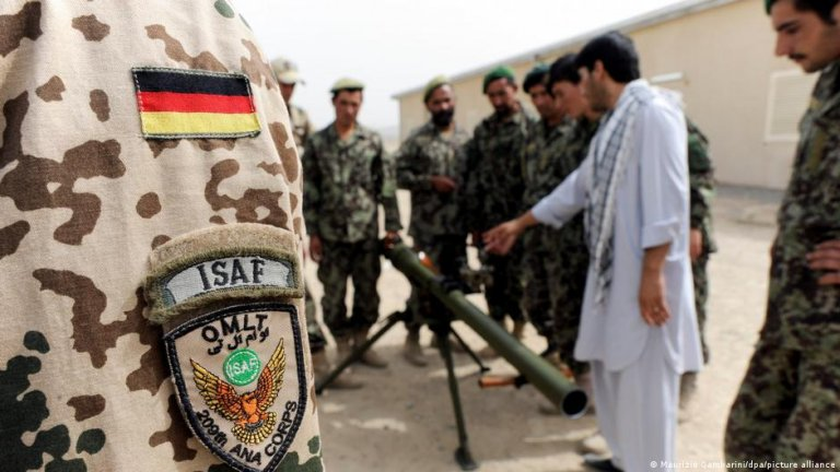 From file: A training of German ISAF tropps with Afghan armed forces | Photo: Picture-alliance