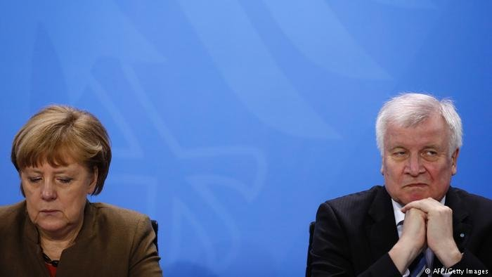 Angela Merkel and Horst Seehofer