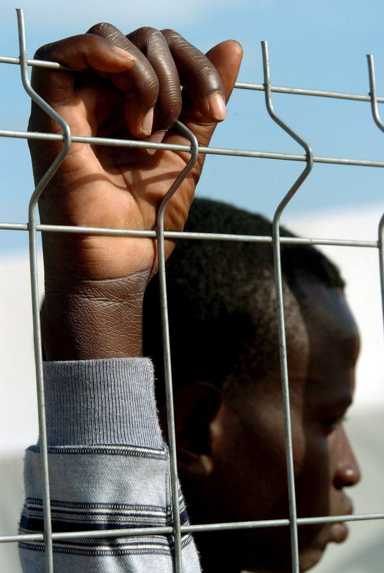A Mali national resides at the Temporary Stay Centre for Immigrants (CETI) in Melilla | Credit: EPA