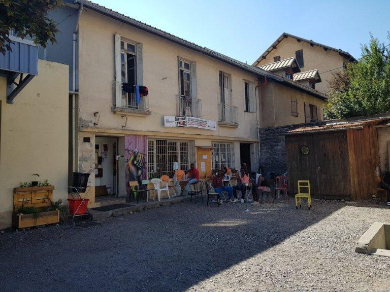 Le Refuge solidaire, à Briançon (Hautes-Alpes), en août 2018. Crédit : InfoMigrants