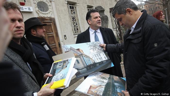 Getty Images/S. Gallup  رائد صالح وجدعون جوفي