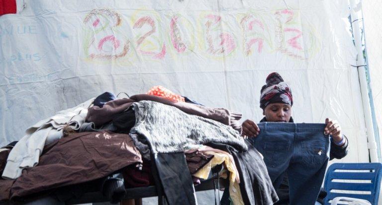 """Pour Andrea Costa, """"accueillir quelqu'un est bien plus que distribuer de la nourriture et des vêtements""""   Photo : avec l'aimable permission de Baobab Experience"""