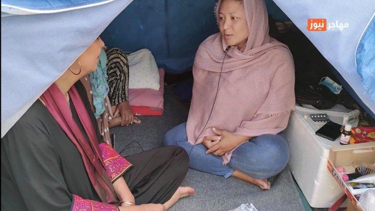 اردوگاه پناهجویان الیوناس در شهر آتن پایتخت یونان (اکتوبر۲۰۲۰)