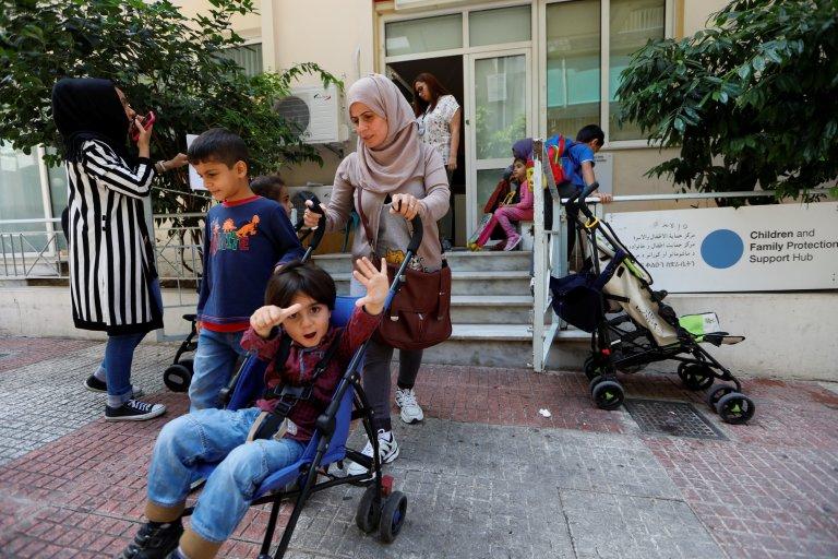 پناهندگان سوری در یونان. عکس از زهره بن سمره/ خبرگزاری رویترز