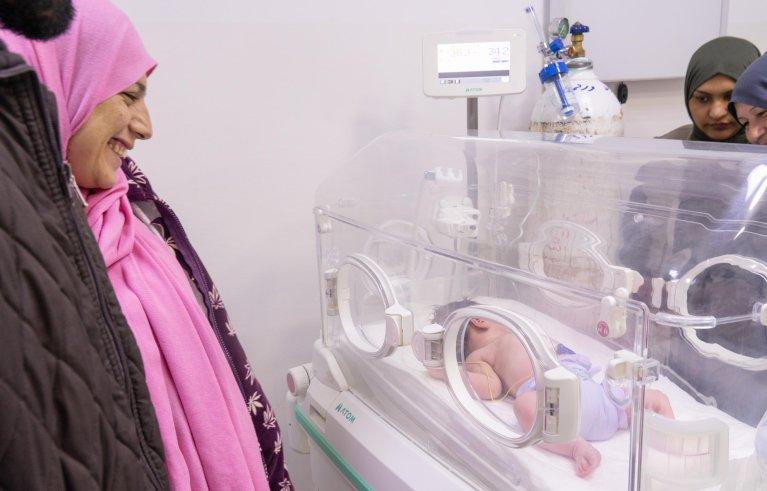 ANSA / طفل رضيع حديث الولادة / أنسا