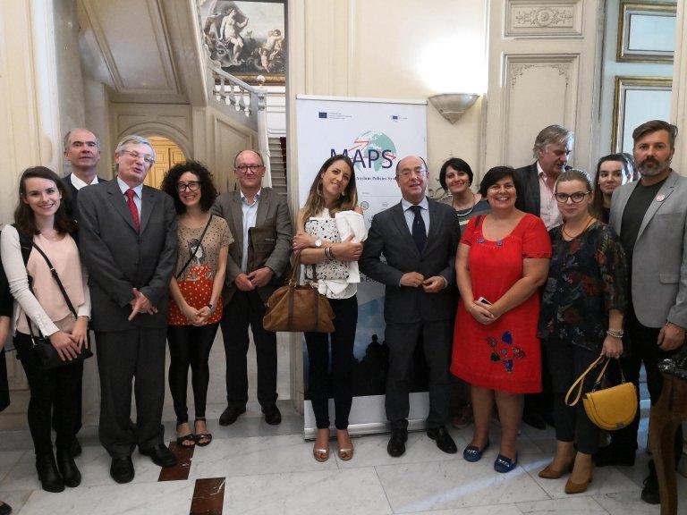 Representatives of several European Universities gathered in Naples' Orientale University | Photo: ANSA/Francesco Tedesco
