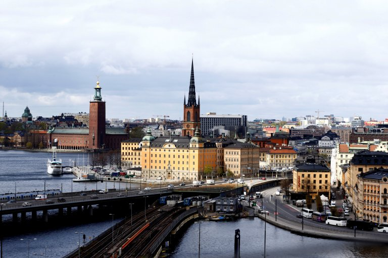 Vue d'ensemble de la ville de Stockholm. Crédit : Reuters