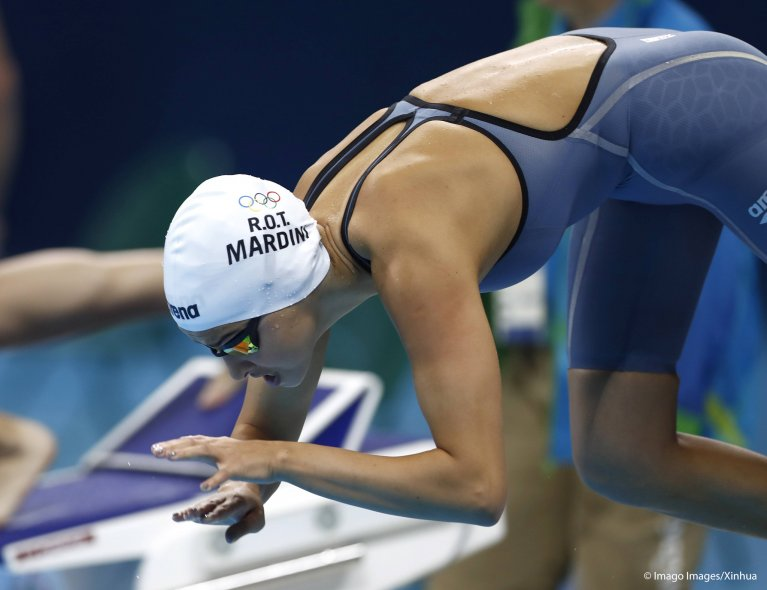 يسرا مارديني په ۲۰۱۶ کال هم په اولمپيک سياليو کي برخ اخيستې وه | Credit: imago images / Xinhua