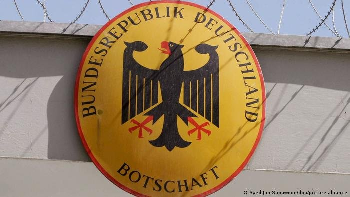 نشان سفارت آلمان در کابل