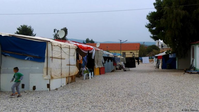 Yazidis continue to fear for their lives even in migrant camps in the EU | Credit: DW/J. Neurink