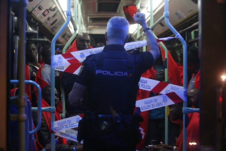 La police espagnole a interpellé un Gambien accusé d'avoir causé la mort de 20 migrants. Crédit : Reuters
