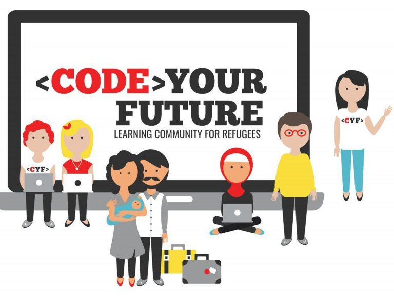 A picture from the organization 'Code your future' | Photo: Code Your Future organization