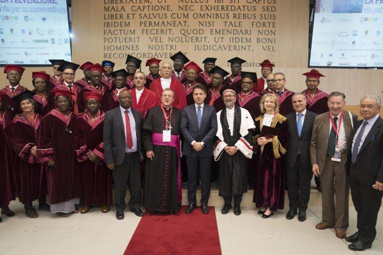 Italian Premier Giuseppe Conte at the University of Teramo | Photo: ANSA/FILIPPO ATTILI UFFICIO STAMPA PALAZZO CHIGI