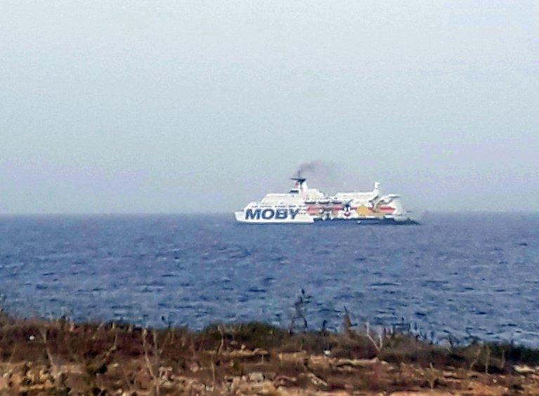 The ship Moby Zaza | Photo: Moby Press Office