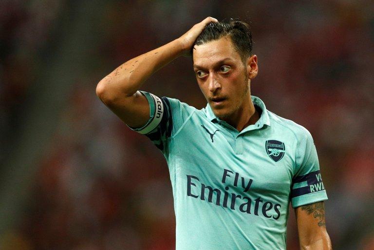 Mesut Özil a claqué avec fracas la porte de la sélection nationale allemande, dénonçant le racisme dont il a été victime. REUTERS/Edgar Su