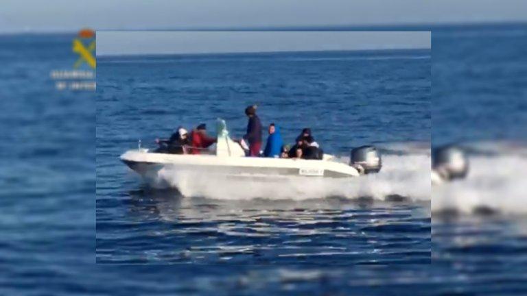 صورة من الموقع الرسمي لخفر السواحل الإسباني