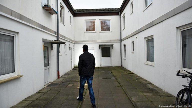 یکی از اردوگاه های پناهجویان در شهر کسل آلمان  (عکس آرشیف)