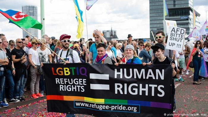 Marching for LGBT rights, Christopher Street Day cologne 2016