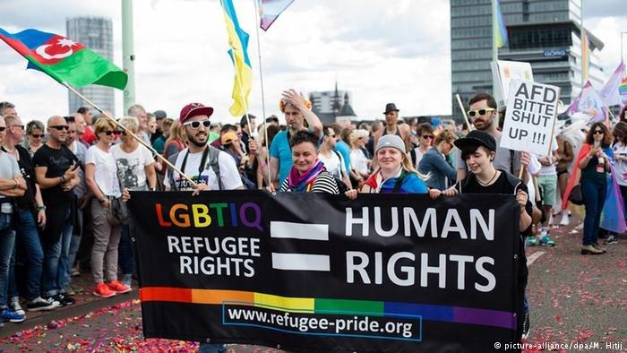 مسيرة للمطالبة بحقوق المثليين في كولونيا 2016