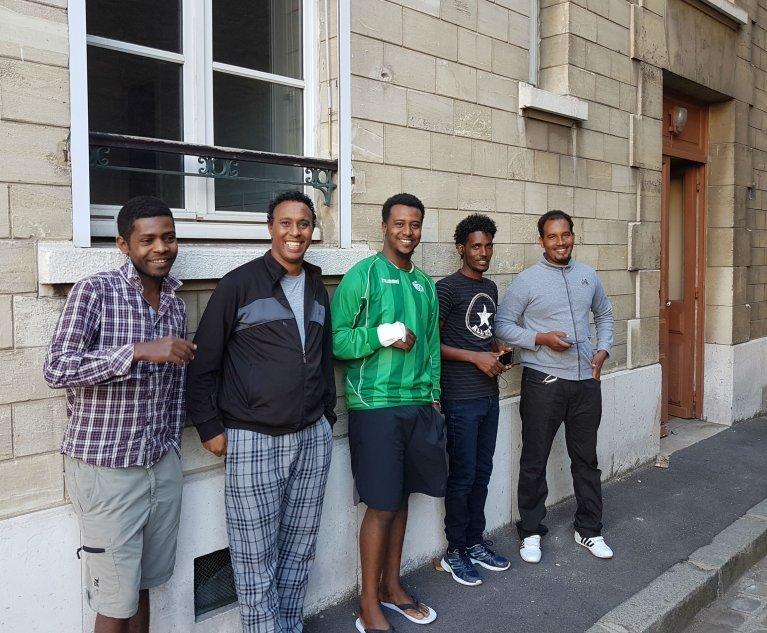 افتتاح مركز جديد لإيواء اللاجئين وطالبي اللجوء في الدائرة 16 لباريس. مهاجر نيوز