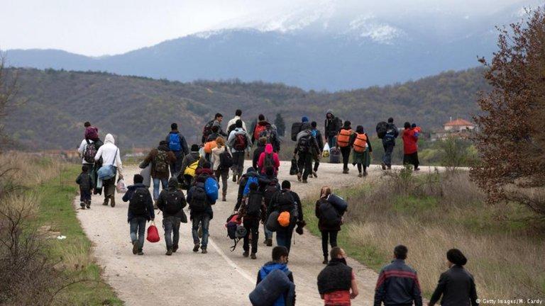 بیش از هشت هزار مهاجر در ماه جنوری سال جاری در مناطق غربی مسیر بالقان گیر مانده اند.