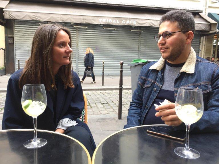 RFI / François-Damien Bourgery |Charlotte Guibert et Karwan Bazyan se sont rencontrés grâce à l'association Singa.