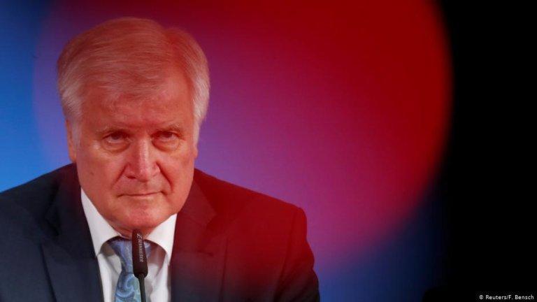 Germany's interior minister Horst Seehofer | Photo: Reuters/F.Bensch