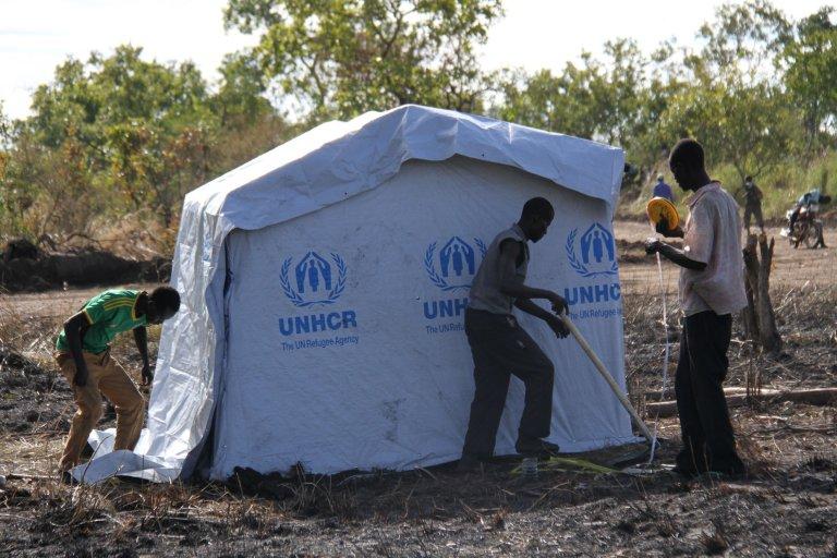 RFI/Gaël Grilhot  Dans la zone 5 du camp de Bidi Bidi, le 10 novembre 2016.