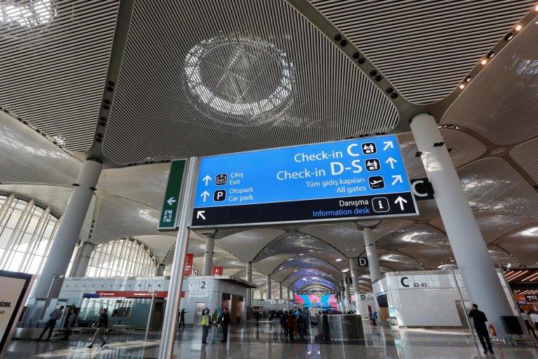 فرودگاه استانبول. عکس از رویترز