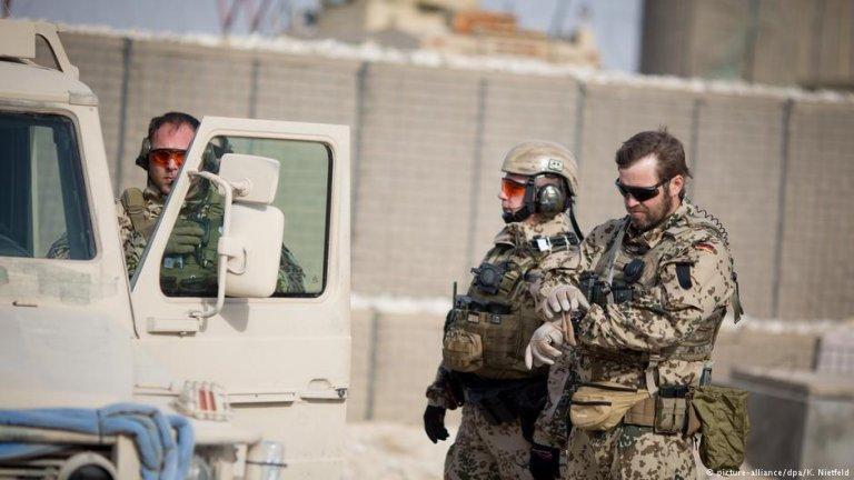 عکس از (Picture_alliance)/ نیروهای آلمانی در افغانستان را نشان میدهد.