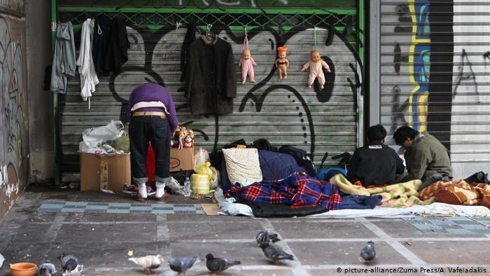 picture-alliance/Zuma Press/A. Vafeiadakis |برلين تؤكد استعدادها لاستقبال أطفال قصر من الجزر اليونانية