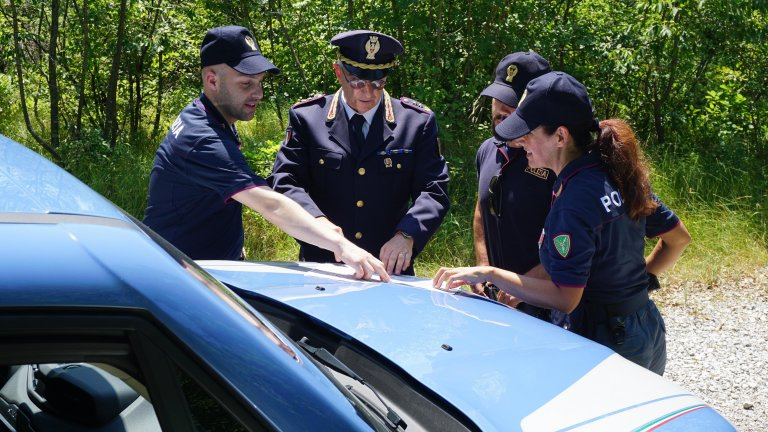 ANSA / شرطة الحدود في تريستا. المصدر: أنسا.