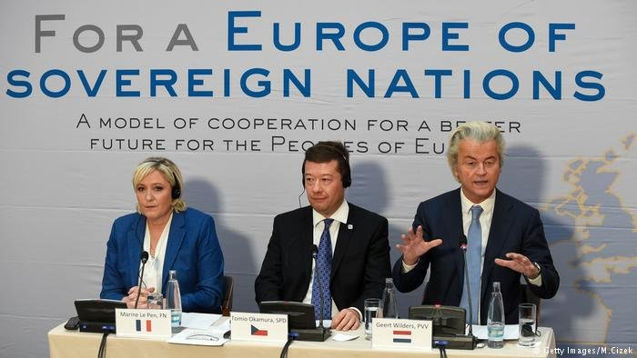 Right-wing leaders from across Europe came together in Prague