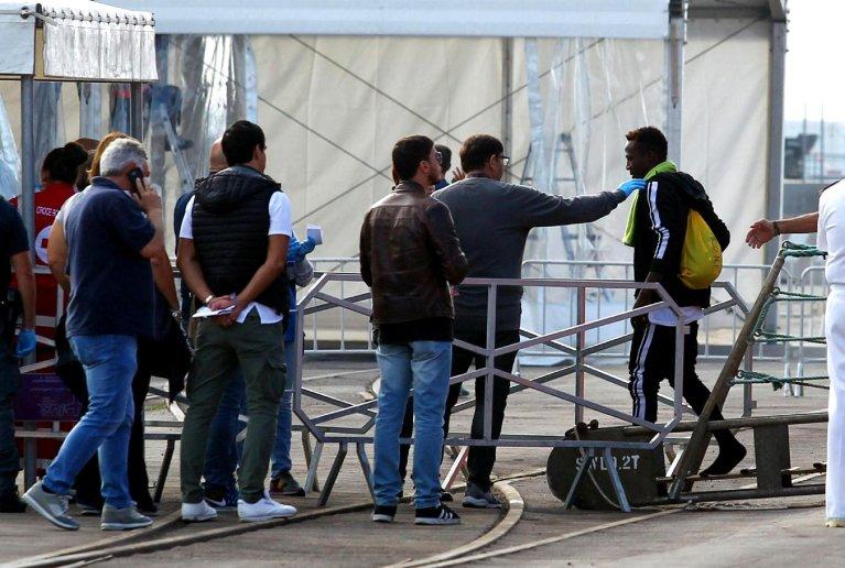 A migrant disembarkation in Italy | Photo: ANSA