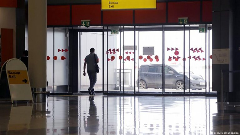 The Sheremetyevo airport of Moscow   Photo: Picture-alliance/dpa