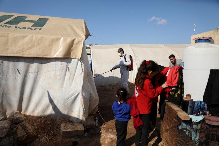 """""""أزمةكوروناتصيبحاليابكلقوةالأشخاصالأكثرفقرافي مناطقالأزماتومناطقوجوداللاجئين""""."""